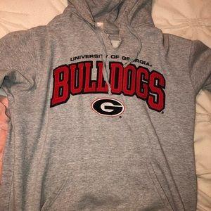 Tops - Vintage UGA, University of Georgia hoodie